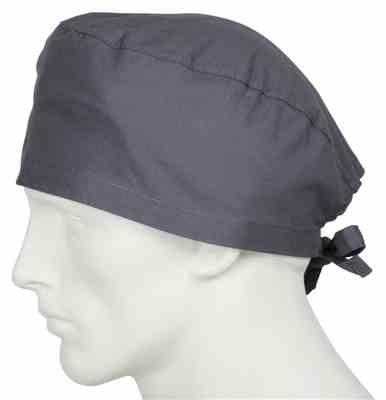 Roosevelt Peebles Jr verified customer review of Scrub Caps Coal Grey