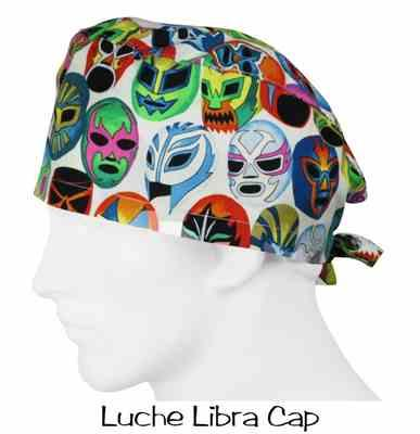 Albert O. verified customer review of Scrub Caps Luche Libra