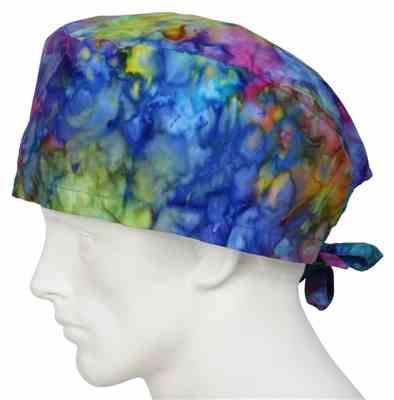 Eszter V. verified customer review of XL Scrub Surgical Cap Tie Dye