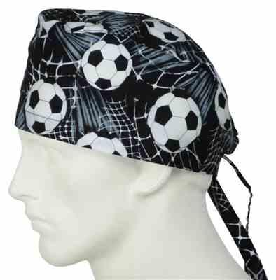 omid t. verified customer review of Scrub Caps Soccer Balls 2