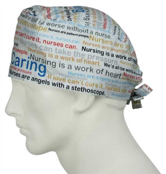 SurgicalCaps.com Scrub Caps Nurse Words Review