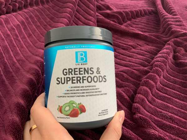 Liv Body LIV Greens & Superfoods (Gluten Free and Vegan) Review