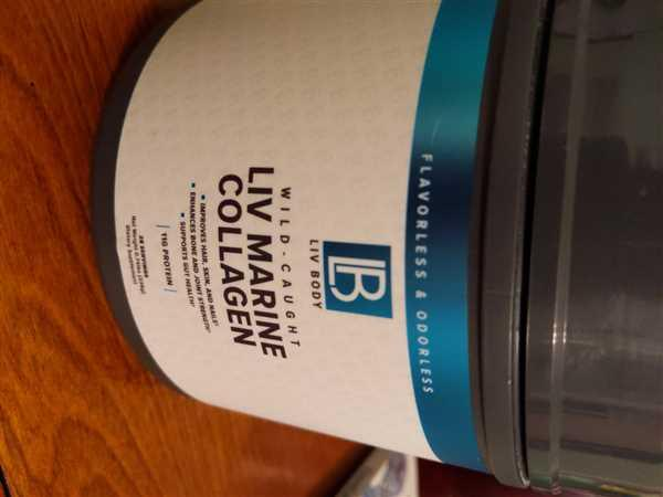 Liv Body LIV Marine Collagen Review