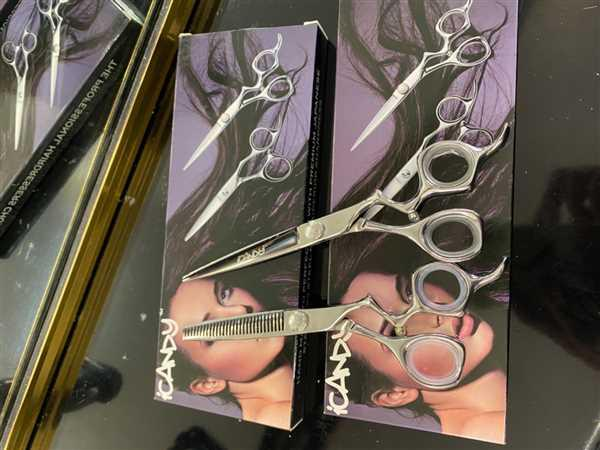 iCandy Scissors iCandy Athena Scissor 6.5 & Athena-CT Thinning Scissors Bundle (6.5/6.0 inch) Review
