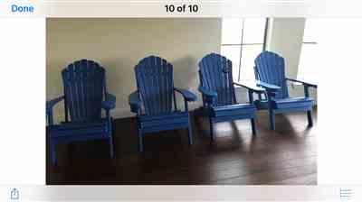 Anonymous verified customer review of ECCB Outdoor Outer Banks Deluxe Oversized Adirondack Chairs