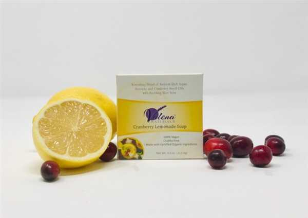 Valēna™ Naturals Cranberry Lemonade Soap Review