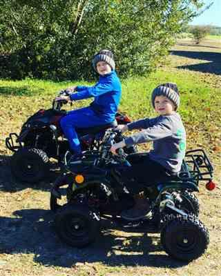 Anonymous verified customer review of eQuad Q 1000W ATV 4 Wheeler for Kids