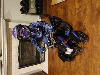 James Stenlund verified customer review of eQuad S Blue 500W ATV 4 Wheeler for Kids