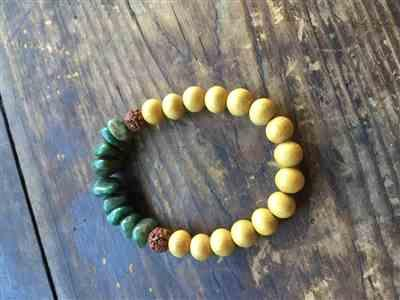 Lisa K. verified customer review of Nangka wood Beads, yellow wood, 8mm, round, 1 strand, 16 inches, 50 beads.