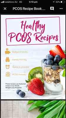 Pamela Quilliam verified customer review of PCOS Healthy Recipe eBook