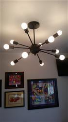 Meredith M. verified customer review of Meridia Sputnik Style 12-Light Chandelier