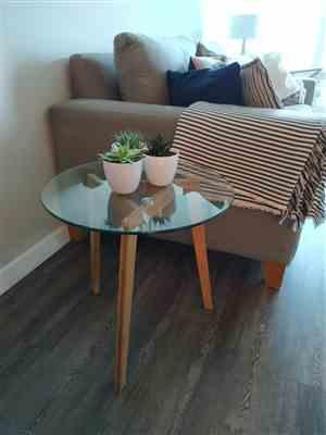 Claudia Belevicius verified customer review of Costanoa Coffee Table