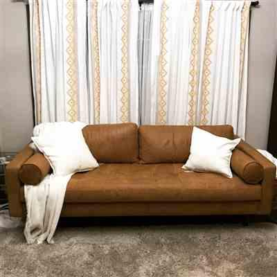 Athena Joyce verified customer review of Napa Sofa
