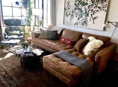 Susan Dempsey verified customer review of Napa Right Sectional Sofa