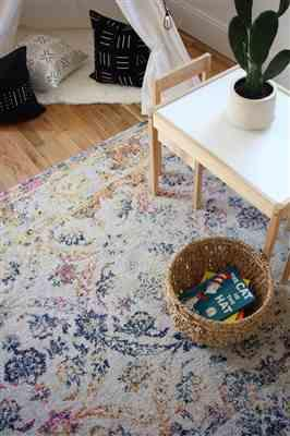 Emily M. verified customer review of Lorelai Distressed Area Rug  (8' x 10')