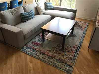 Eugene F. verified customer review of Hayden Medallion Distressed Area Rug