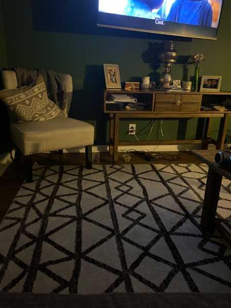 Rachael Mark verified customer review of Niles Area Rug