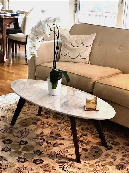 Poly & Bark Riley Marble Oval Coffee Table Review