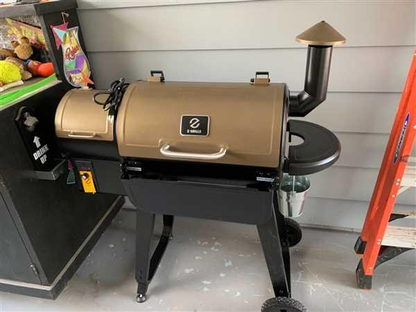 Dave Miller verified customer review of ZGRILLS 450A-WOOD PELLET GRILL 7-IN-1 BBQ SMOKER