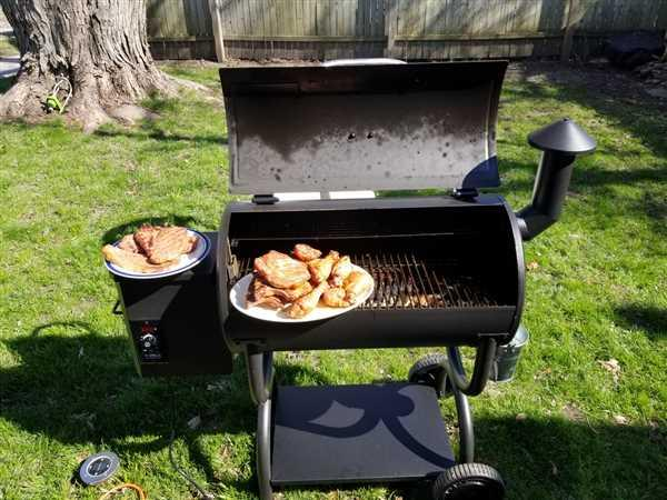 Bryan Kwasny verified customer review of Z GRILLS-550B WOOD PELLET GRILL  8-IN-1 BBQ SMOKER