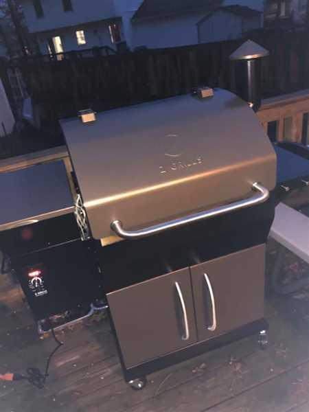 William FOSTER verified customer review of NEW ARRIVAL ZPG-1000D 8 IN 1 WOOD PELLET GRILL & SMOKER