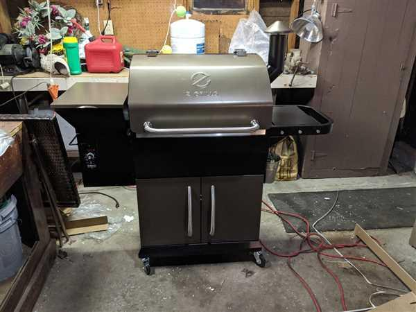 Darin Forbes verified customer review of NEW ARRIVAL ZPG-1000D 8 IN 1 WOOD PELLET GRILL & SMOKER