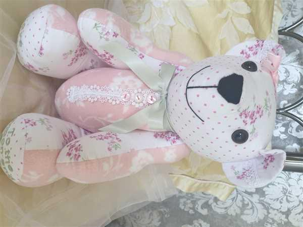 Lily Grace Keepsakes Memory Bear - Patch Design Review