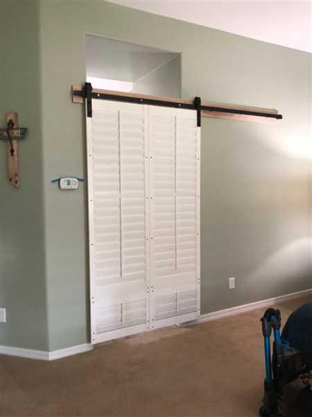 MJC & Company Vintage | Single Barn Door Hardware | Matte Black Review