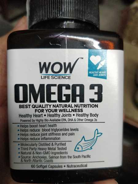 Buywow WOW Life Science Omega-3 Fish Oil 60 Capsules Review