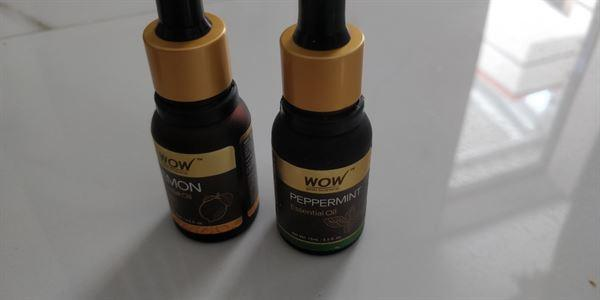 Buywow WOW Skin Science Peppermint Essential Oil Review
