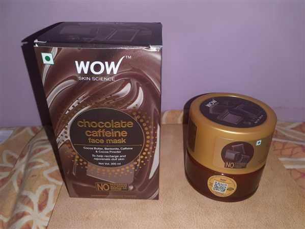 Buywow WOW Skin Science Chocolate Caffeine Face Mask - 200 ml Review