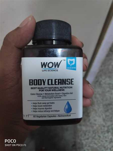 Buywow WOW Life Science Body Cleanse - Herbal & Antioxidants Supplement Review