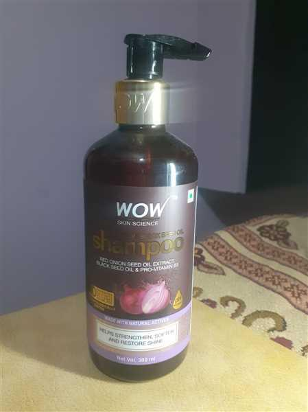 Buywow WOW Skin Science Red Onion Black Seed Oil  Shampoo - 300 mL Review