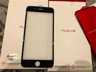 Anatoly Afanasiev verified customer review of FLOLAB NanoArmour iPhone 7/8 Plus Tempered Glass Screen Protector