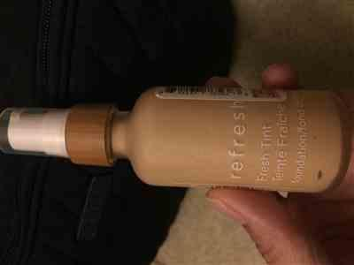 CS verified customer review of Refresh Fresh Tint Foundation