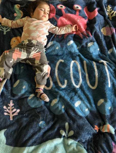Elaine Woodward verified customer review of Under the Sea - Personalized Blanket