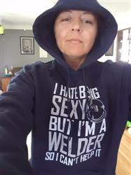 TAMMY J. verified customer review of I Hate Being Sexy But I'm a Welder