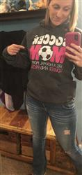 Stacia T. verified customer review of Loud and Proud Soccer Dad