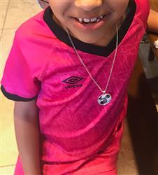 Diverse Threads Soccer - Personalized Pendant & Necklace Review