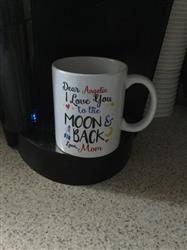 Diverse Threads Love You to the Moon & Back - Personalized Mug Review