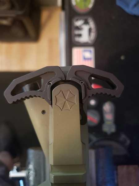 Jon Phipps verified customer review of Armaspec Victory Charging Handle