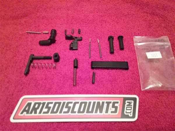 Maurice Pruitt verified customer review of NBS Mil-Spec Lower Parts Kit Minus FCG