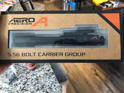 Andrew C. verified customer review of Aero Precision 5.56 Bolt Carrier Group - Black Nitride