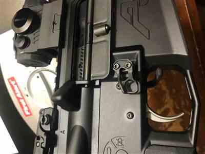 Alfredo Barlolong verified customer review of ODIN Works XMR 3 Extended Mag Release