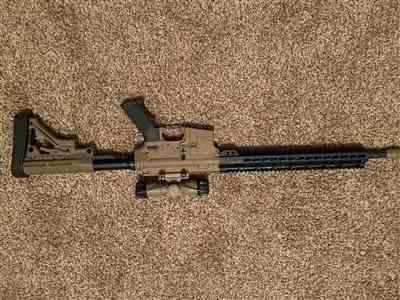 Chad Smith verified customer review of Aero Precision AR-15 Assembled Upper Receiver - FDE Cerakote