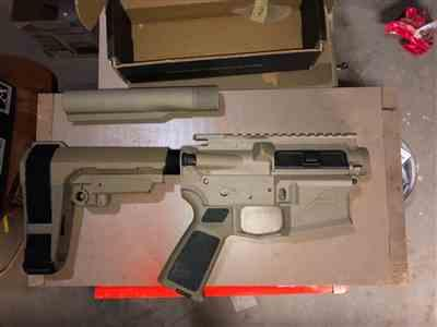 Craig F. verified customer review of Aero Precision AR-15 Assembled Upper Receiver - FDE Cerakote