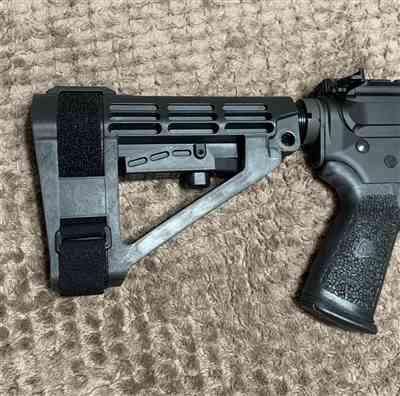 Seth Strasburg verified customer review of SB Tactical SBA4 Pistol Stabilizing Brace