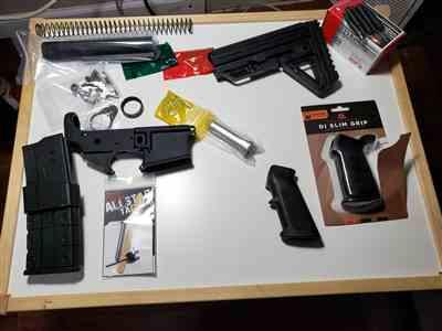 Andy L verified customer review of Alpha AR-15 Lower Build Kit