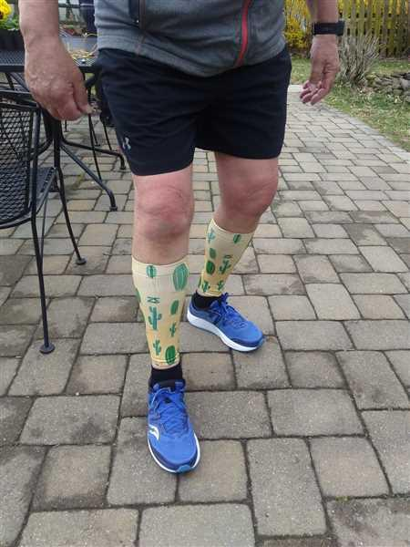 Ben Delp verified customer review of Compression Leg Sleeves