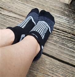 Jessica J. verified customer review of Grit Running Socks (No-Show)